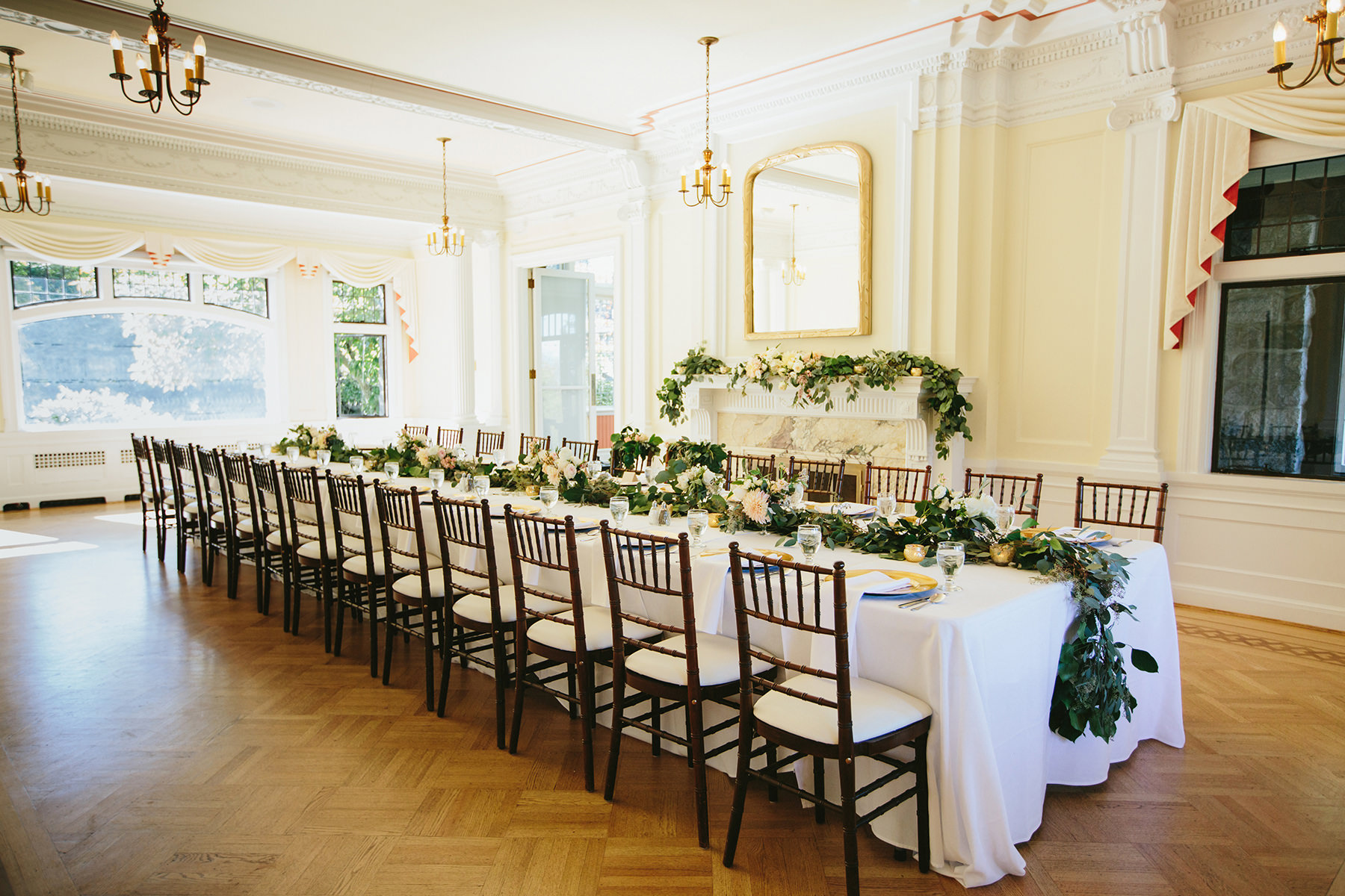 destination vancouver wedding at cecil green park house lucida