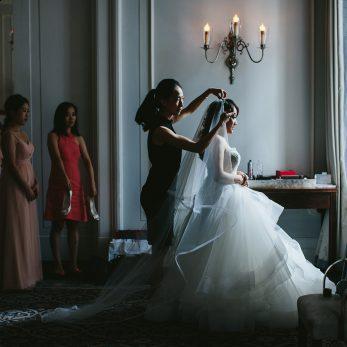 Selina & Eddie get married at the Vancouver Club