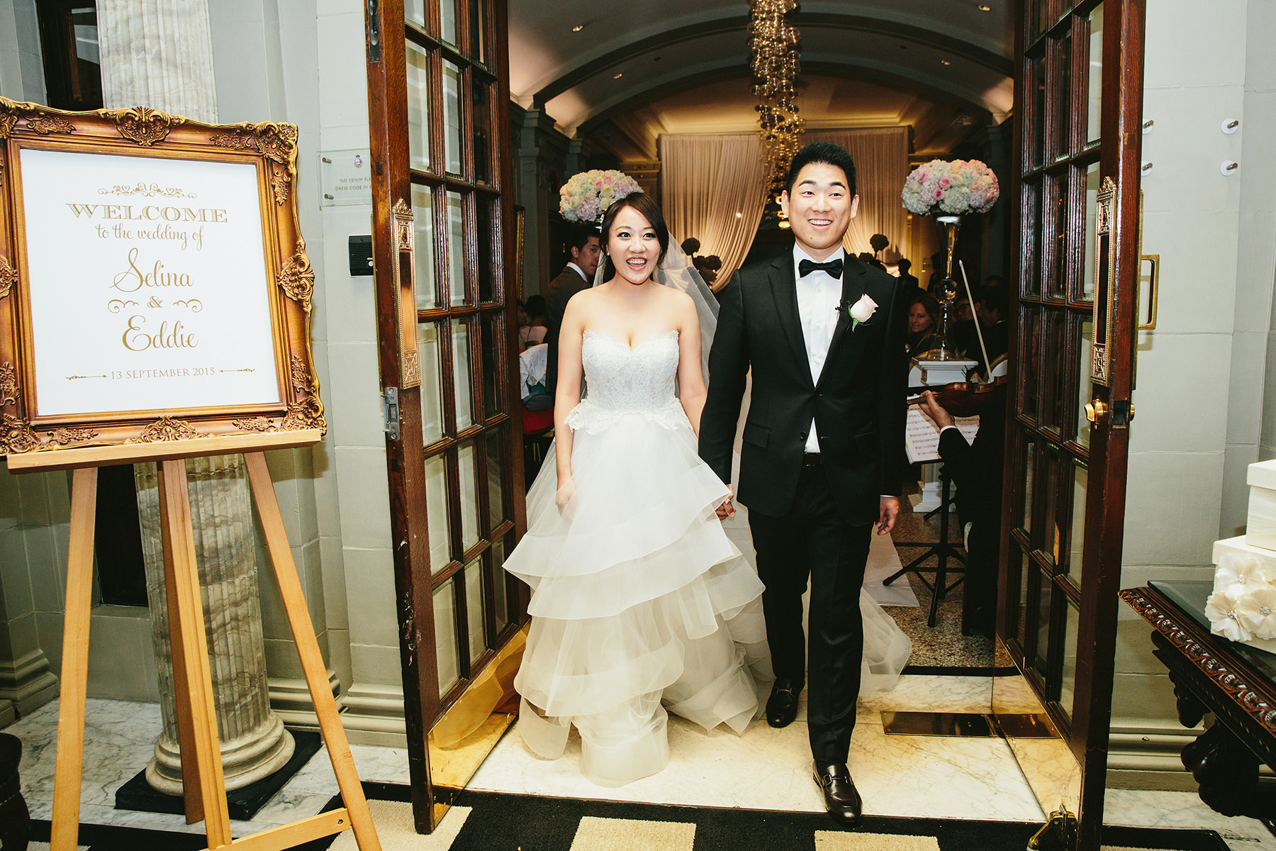 Selina tsang wedding