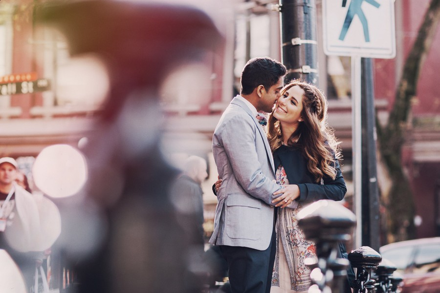 #gastown #engagement photography in vancouver www.lucida-photography.com