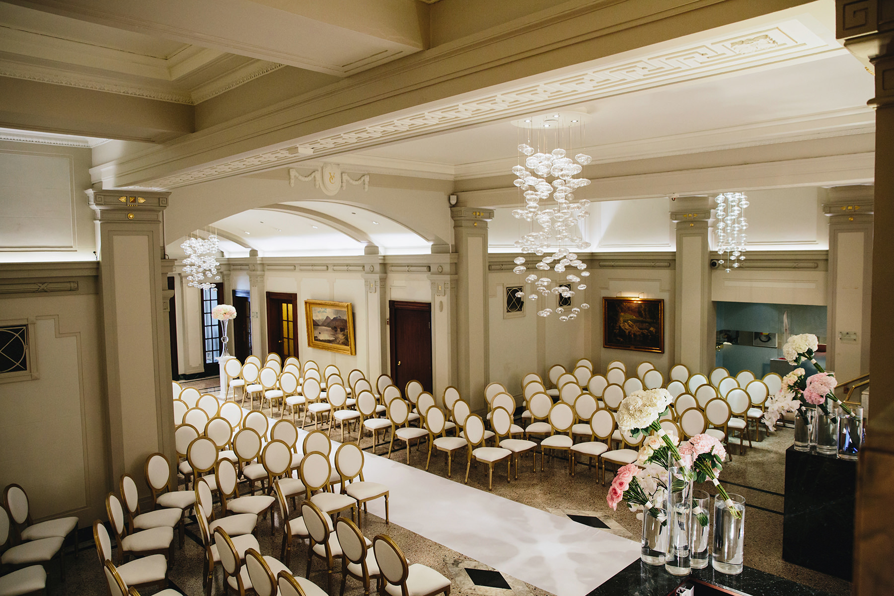19 Chairs Decor Vancouver Club Foyer Lobby Lucida Photography