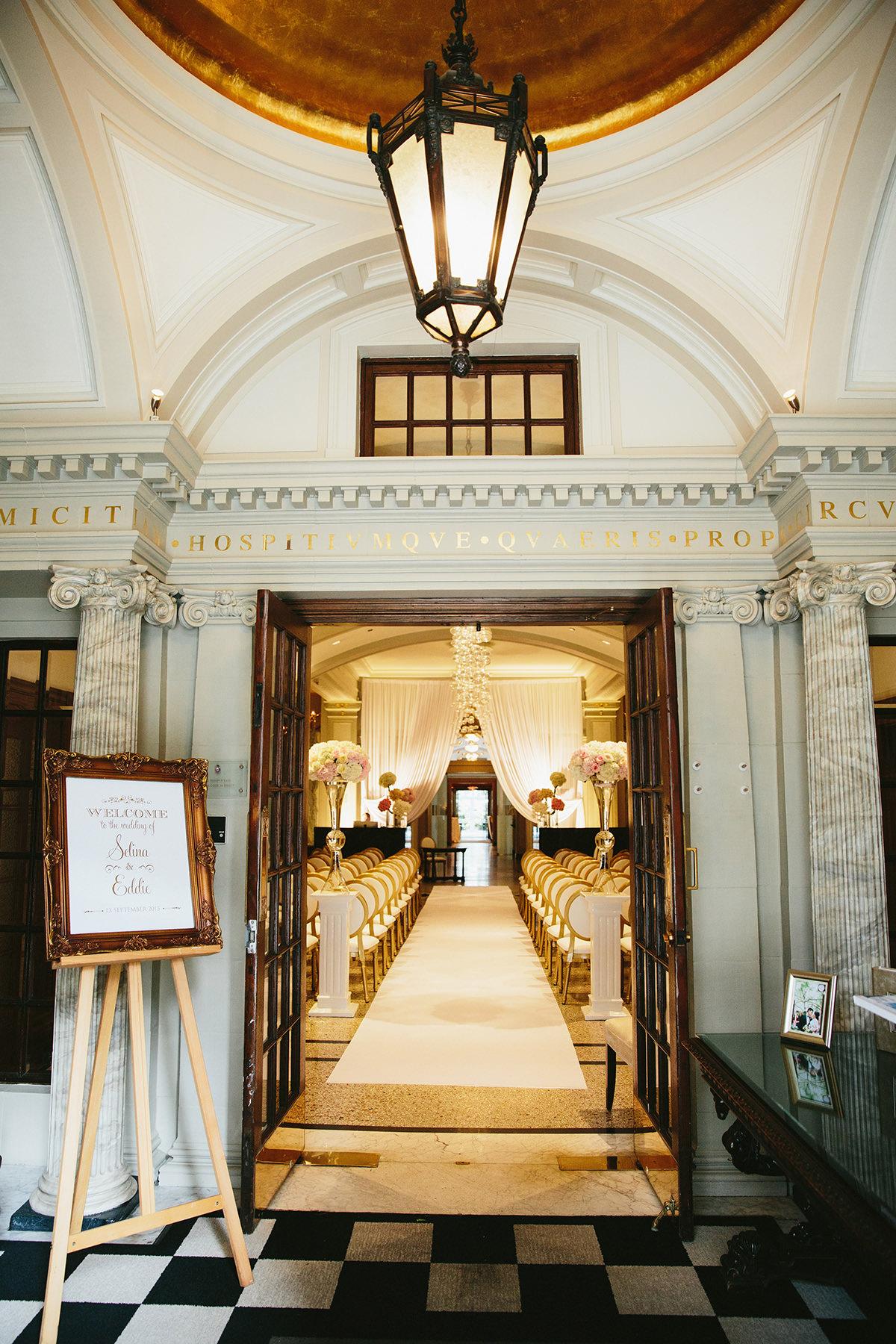 20 Wedding Decor Vancouverclub Entrance Lucida Photography