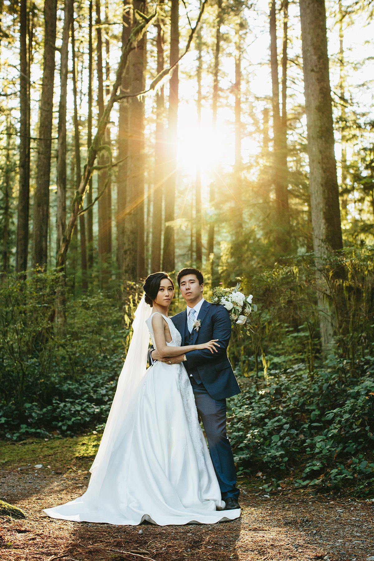 rainforest wedding photos Vancouver www.lucida-photography.com