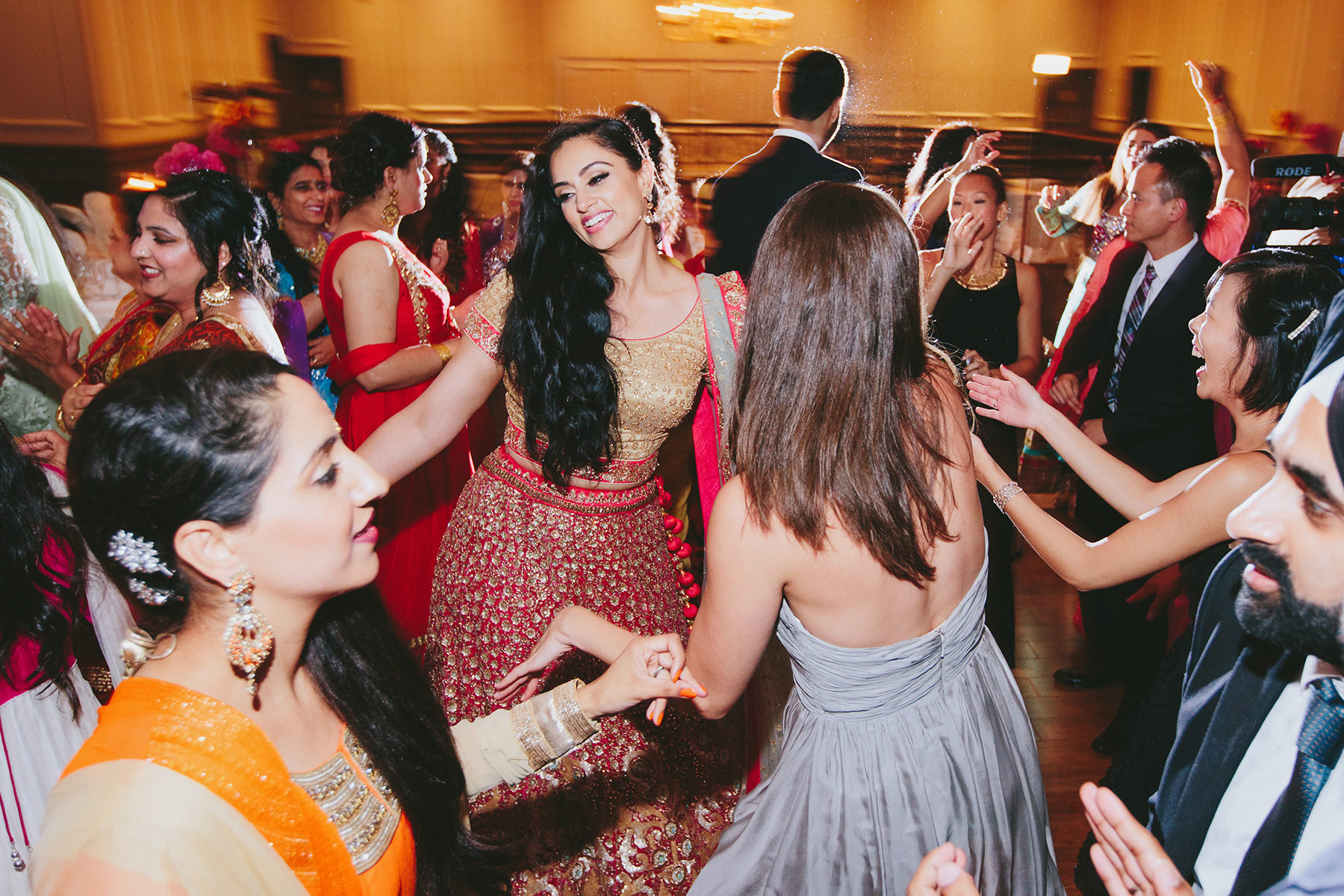 44 Indian Wedding Reception Dance Lucida Photography